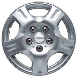 """Michelin 9002 Set 4 copricerchi 15"""" mod. 942 Silver"""