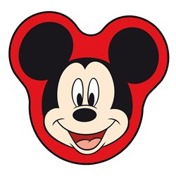 Disney 27005 Tendine parasole laterali sagomate Mickey 30x40 cm