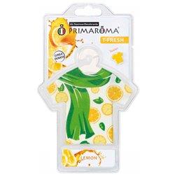 Primaroma 100901 Conf. 6 pz T-Fresh Sciarpe Limone