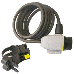 Michelin 801026 Cavo antifurto a chiave 180 cm
