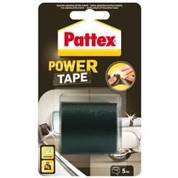 Henkel 1658094 Cart. 12 pz Pattex Power Tape nero 5m