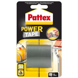 Henkel 1659547 Cart. 12 pz Pattex Power Tape grigio 5m