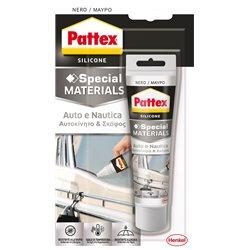 Henkel 1992659 Cart. 12 pz Pattex Auto e Nautica nero 50 ml