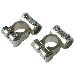 Ring BBT4 Terminale batteria doppia vite zinco polo negativo cavo 40-60 mm sfuso