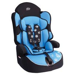 Bibo 1443 Seggiolino di sicurezza per bambini 9-36 kg mod. Bering azzurro conchiglie