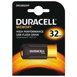 Duracell DRUSB32HP Chiavetta USB 3.0 High Performance 32 Gb