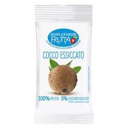 Euro Company EUR02720 Conf. 8 buste Semplicemente Frutta cocco essiccato 25 g
