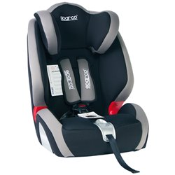 Sparco F1000KGR Seggiolino di sicurezza per bambini 9-36 kg nero/grigio