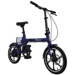 FIAT F-FOLD16B E-Bike pieghevole Fiat 500 blu