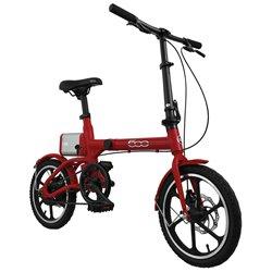 FIAT F-FOLD16R E-Bike pieghevole Fiat 500 rossa