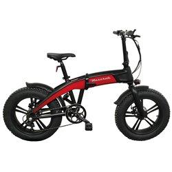 MASERATI MA-FAT20FR Fat E-Bike pieghevole F20 rossa