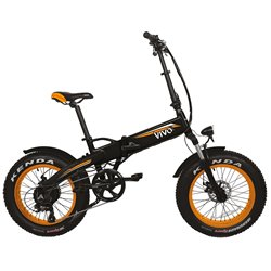 VIVO M-VF21O Fat E-Bike pieghevole VF21 arancio