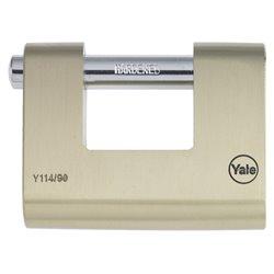 Yale YAL006 Lucchetto rettangolare 80 mm