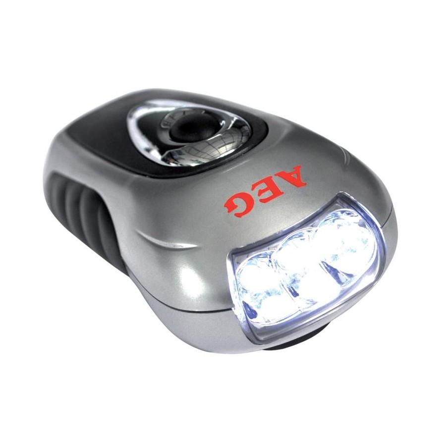AEG 005102 Lampada torcia 3 led con dinamo