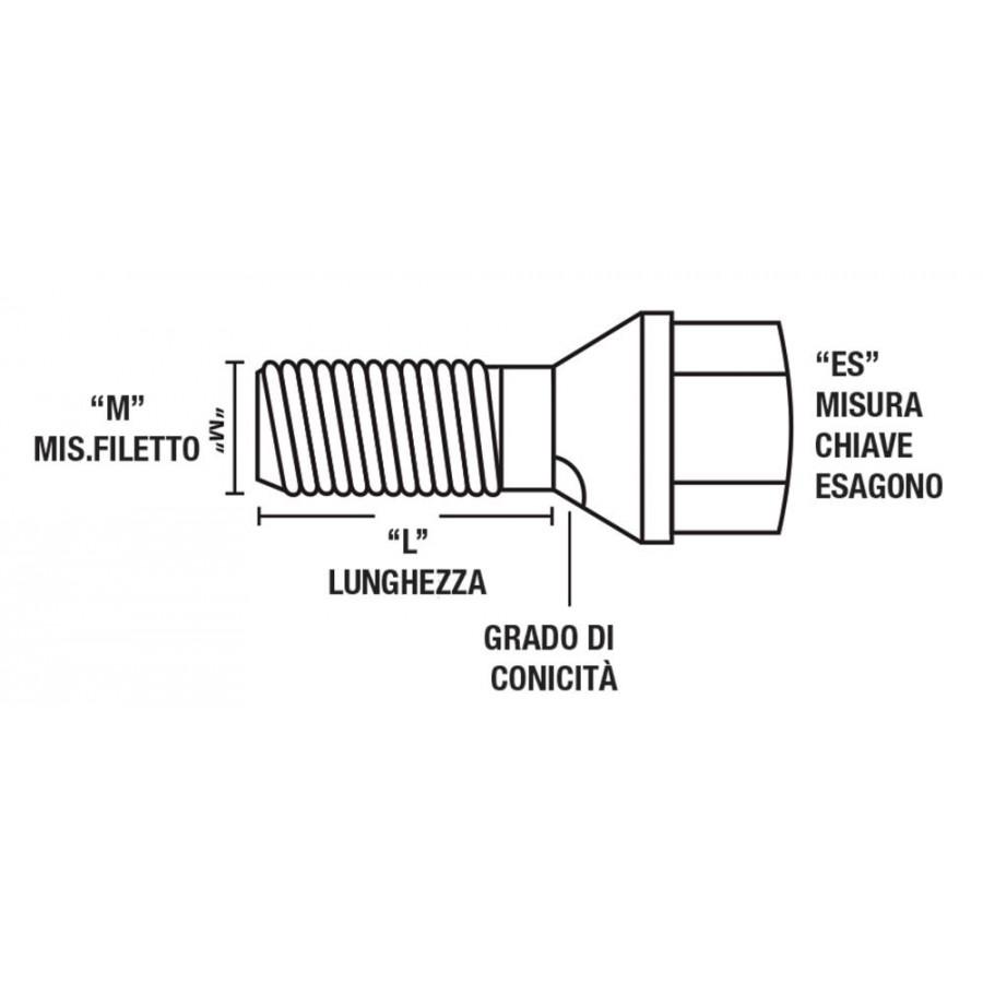 STP 120363 Cart. 12 pz Sostitutivo piombo 200 ml