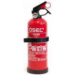 Cora 000126846 Estintore 1 kg a polvere ABC con supporto e manometro