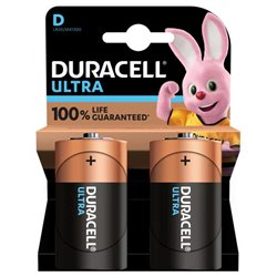 DURACELL 94017917 Conf. 2 pile torcia Ultra D 1300