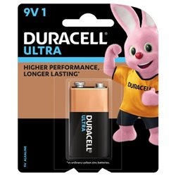 DURACELL 94018006 Pila transistor Ultra 9V 1604