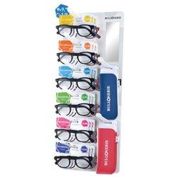 BULLONERIE ML15B24 Espositore da banco 24 occhiali ML15 + 24 astucci