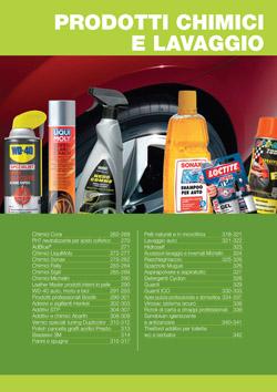 Prodotti chimici e accessori lavaggio
